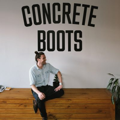Andrew from Concrete Boots Bar
