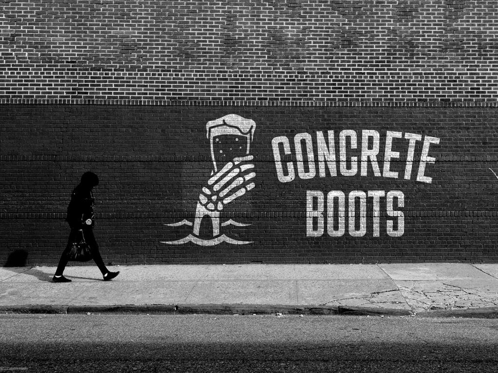 Image of Concrete Boots Bar outside